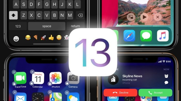 Concepto de diseño de iOS 13