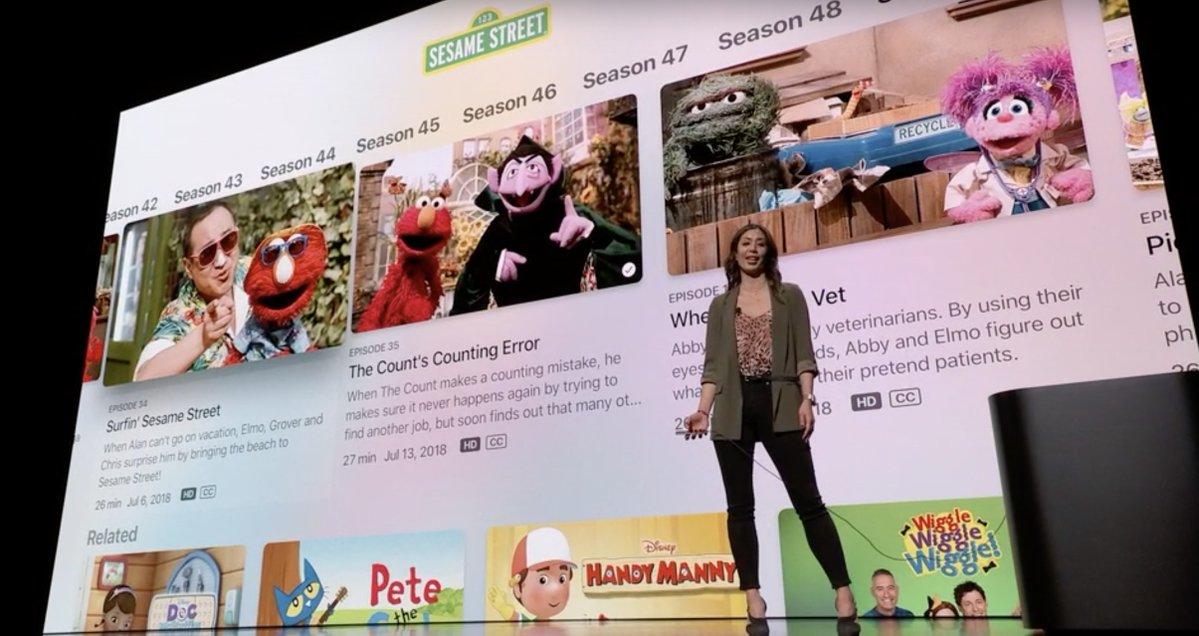 Contenidos para niños en Apple TV+