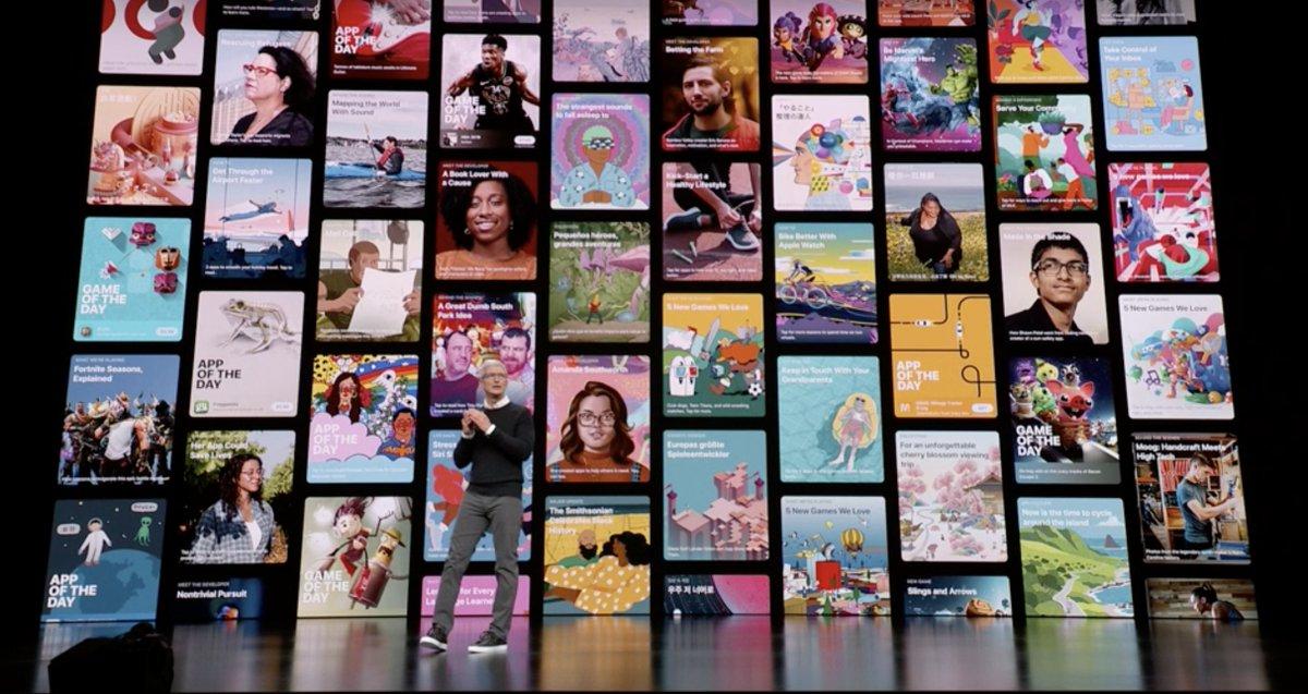 Muchas App en el iPad