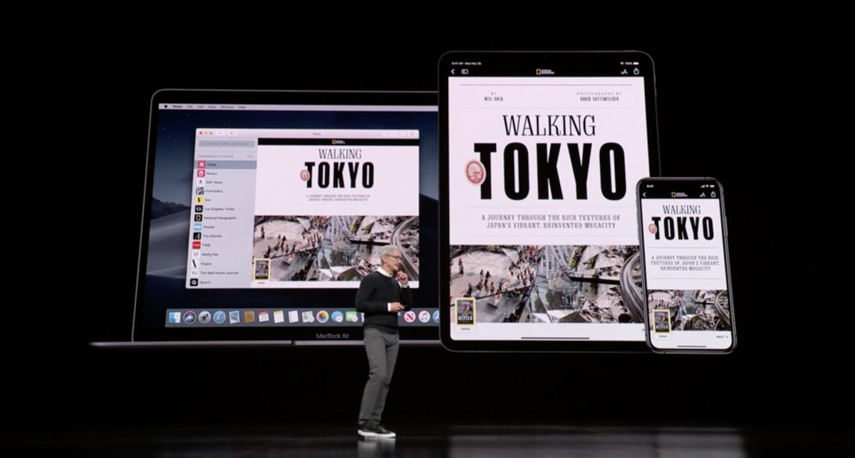 Revistas digitales sobre Tokyo en el iPad