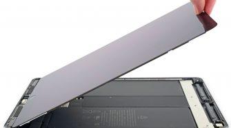 Abriendo el iPad Air 3