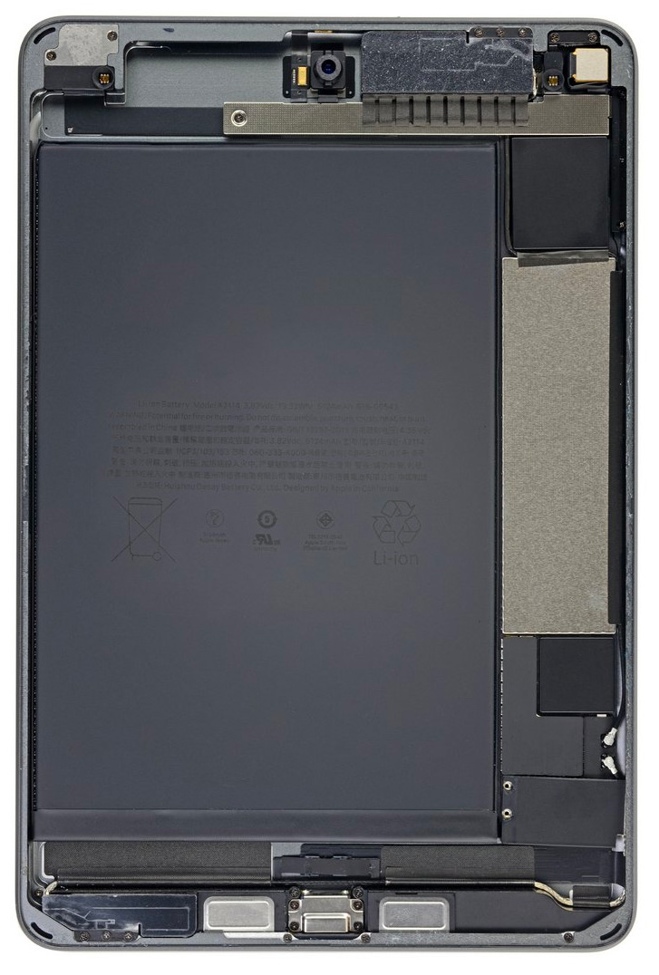 Dentro del iPad mini 5