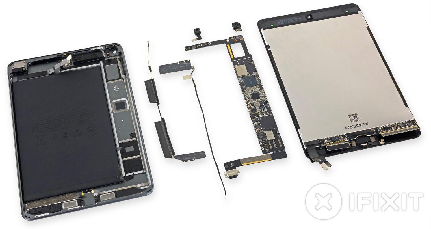 Componentes del iPad mini 5