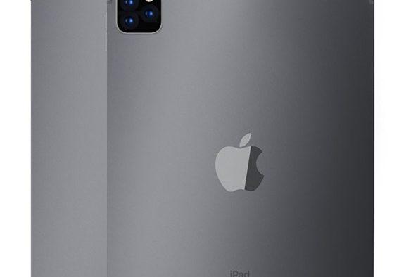 Hipotético iPad Pro con tres cámaras traseras