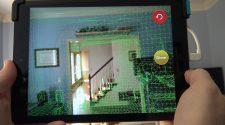iPad con un escáner 3D