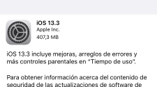 iPadOS 13.3 e iOS 13.3