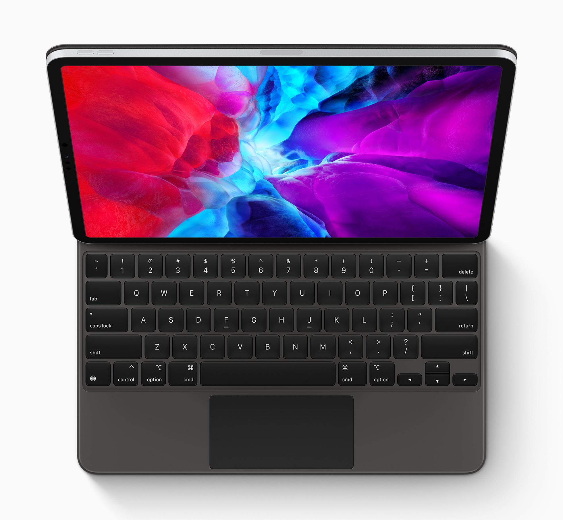 iPad Pro del año 2020 con teclado y trackpad