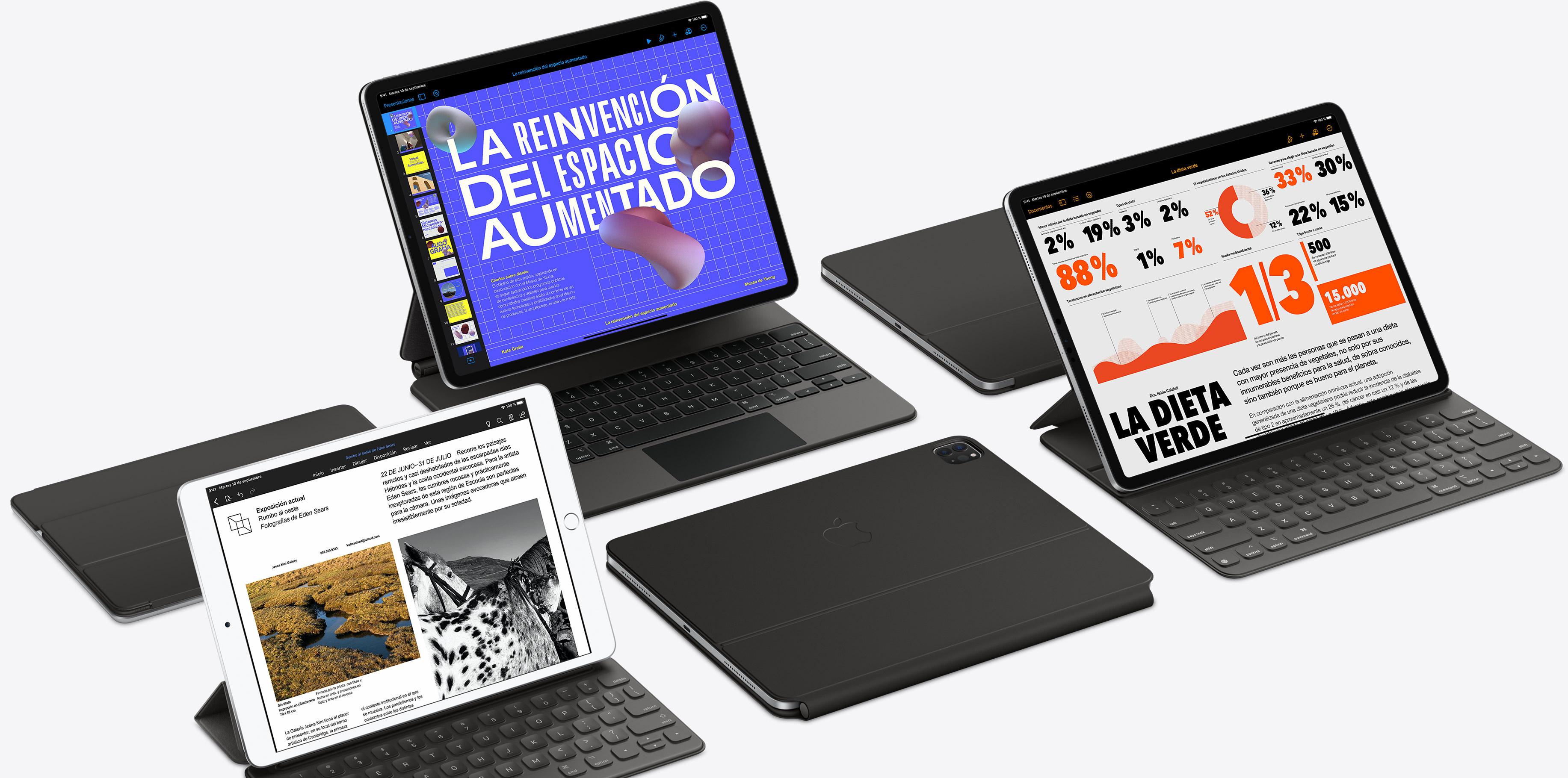 Teclado con trackpad del iPad Pro del 2020