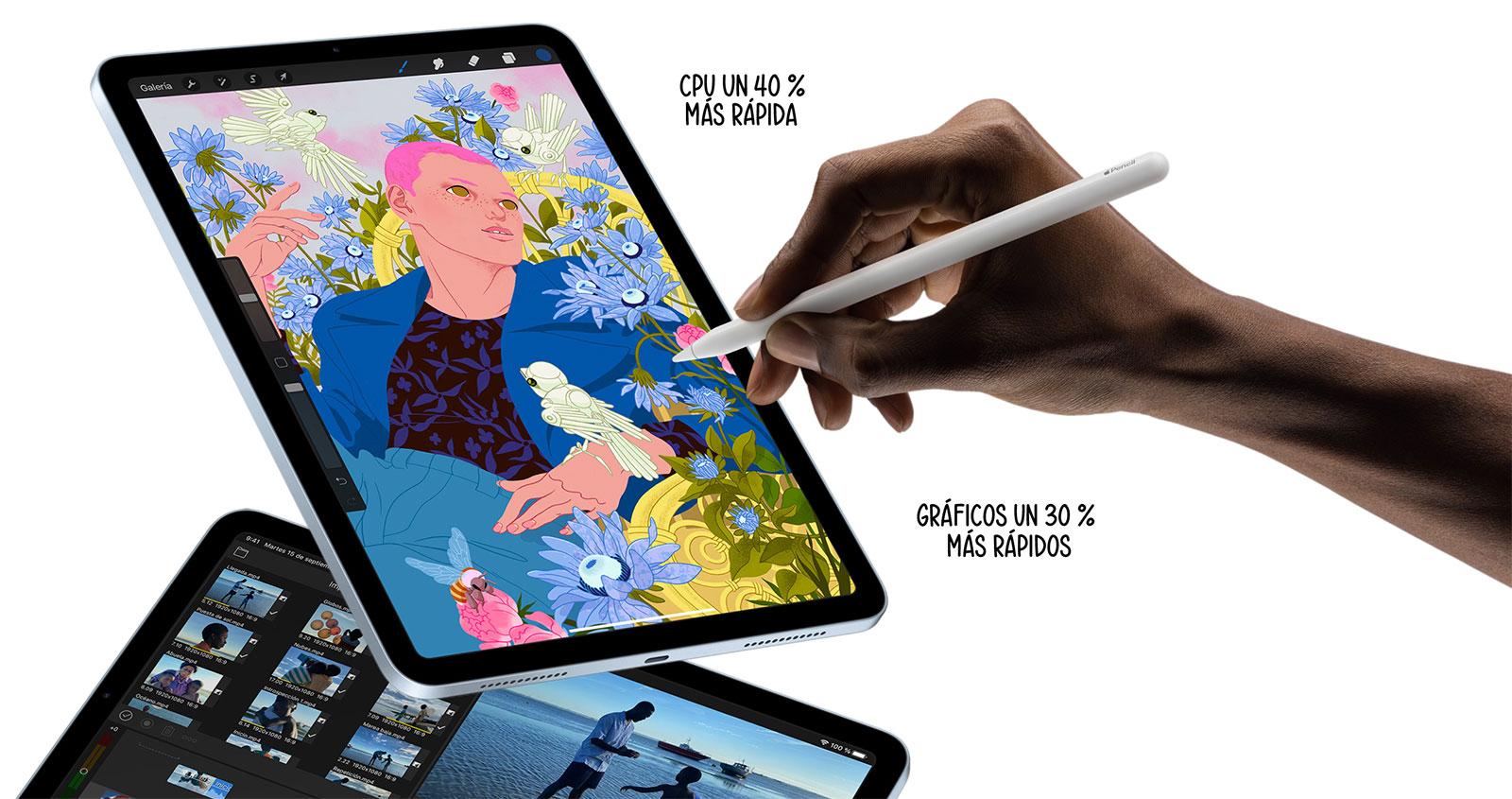 Apple Pencil en el nuevo iPad Air 2020