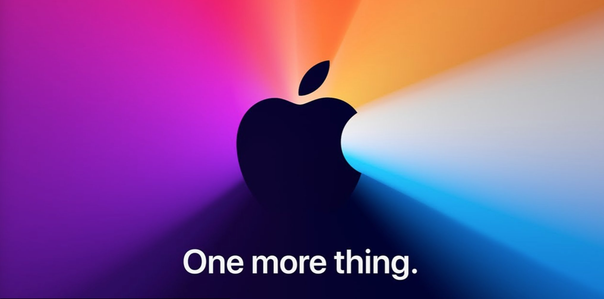 One More Thing y logo de Apple