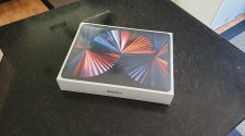 iPad Pro con M1 recibido antes de tiempo
