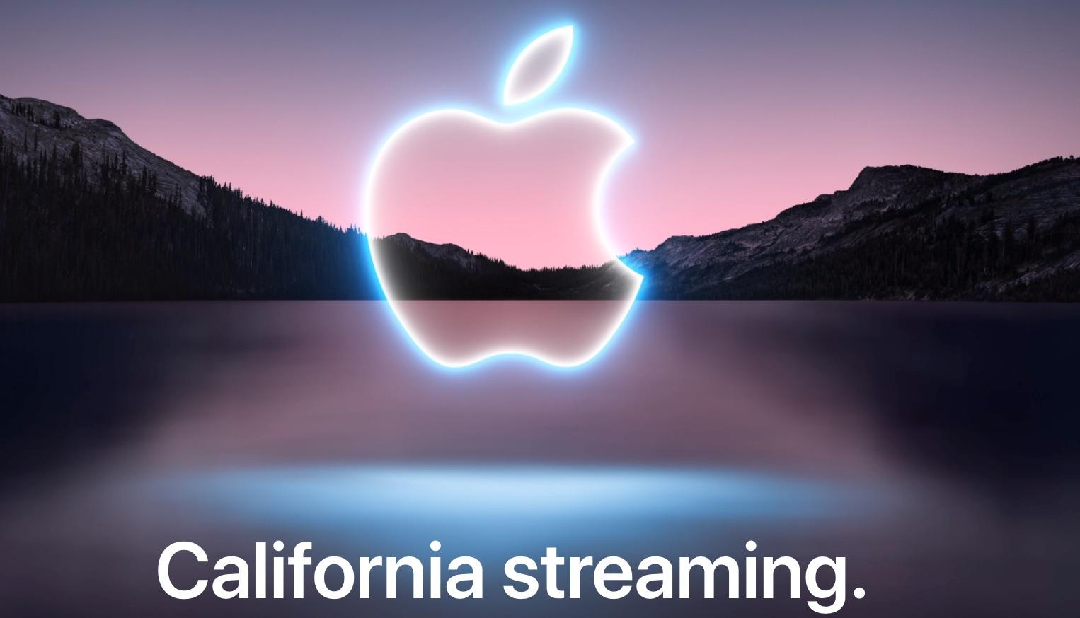Keynote California Streaming evento de Apple en Septiembre de 2021, presentación del iPhone 13 y Apple Watch Series 7
